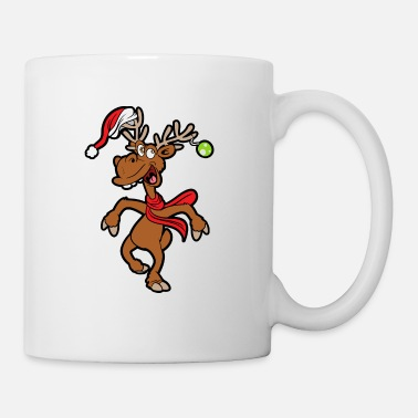 Funny Christmas Reindeer - Coffee/Tea Mug