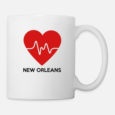New Orleans Heart New Orleans - Coffee/Tea Mug