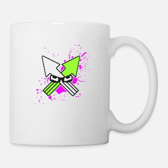 Game Mugs & Drinkware - Splatoon Squid - Mug white