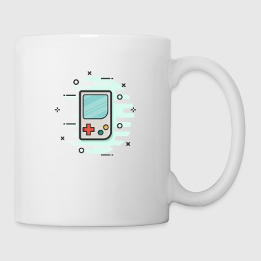 game boy gaming gamer handheld console - Coffee/Tea Mug