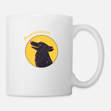 Happy wolf - Coffee/Tea Mug