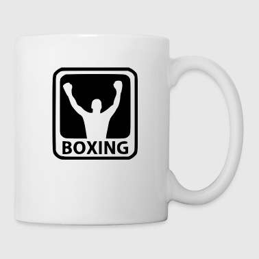 boxer shirt - Coffee/Tea Mug
