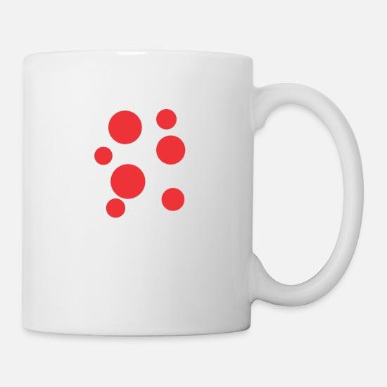 Coffeetea White Funny Red Stain Mug wkPXZOiuT