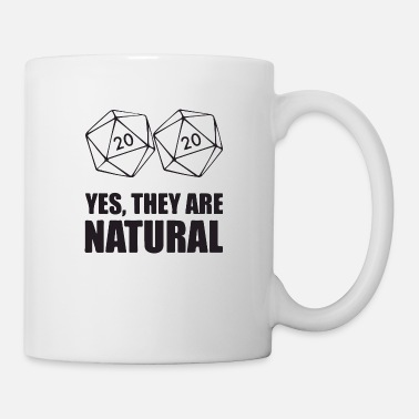 Gamer yes they are natural - Mug