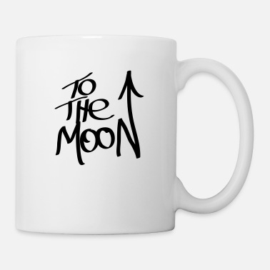 The Moon To the moon - Mug