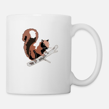 Bush wood squirrel - Mug