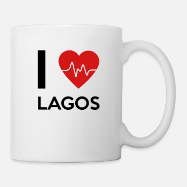 Lagos I Love Lagos - Coffee/Tea Mug