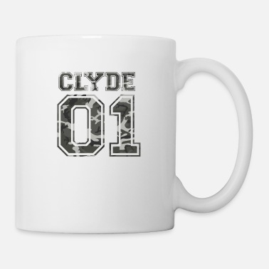 Couples Clyde_01_camo_1 - Coffee/Tea Mug
