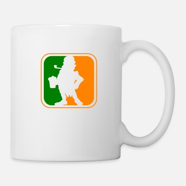 Leprechaun Irish Leprechaun League Logo St. Patrick's Day - Mug