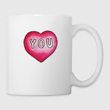 Love You Love YOU! - Coffee/Tea Mug
