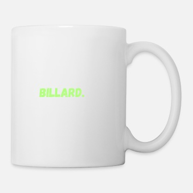 Sarcastic Eat. Sleep. Billard. Repeat. Tee Shirts Gifts - Coffee/Tea Mug