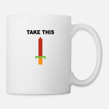 Take Take this - Coffee/Tea Mug