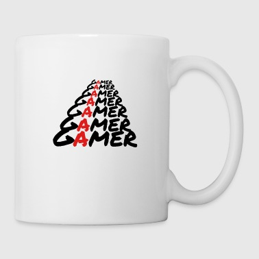 Gamer Gamer Gamer [White] - Coffee/Tea Mug