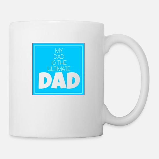 Ole Mugs & Drinkware - Ultimate Dad Shirt - Mug white
