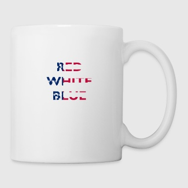Red White And Blue Red white blue - Coffee/Tea Mug