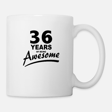 Awesome 36 Years of being AWESOME - Mug