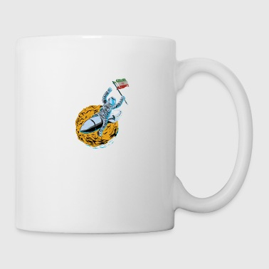 Astronaut Space Flag Iran - Coffee/Tea Mug