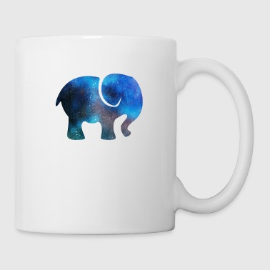 Space elephant - Coffee/Tea Mug