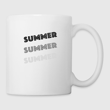 Summer Summer Summer -grey - Coffee/Tea Mug