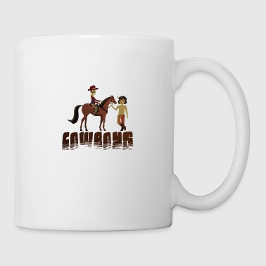 indian cowboy - Coffee/Tea Mug