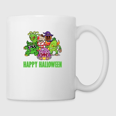 Halloween Monster Zombie Horror Skelett Skull Bone - Coffee/Tea Mug