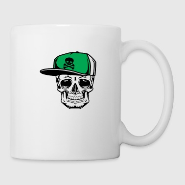 Old School Skull Basecap - Coffee/Tea Mug