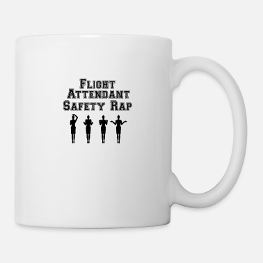 Flight Aviation Flight Attendant Safety Rap - Mug