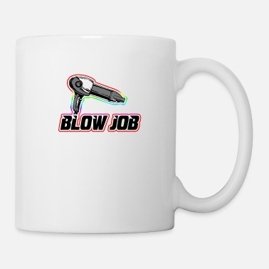 Blow-job Blow job hair dryer - Coffee/Tea Mug