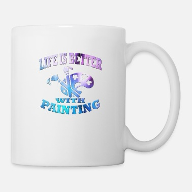 Painter Painting - Coffee/Tea Mug