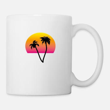 palms and sun II - Mug
