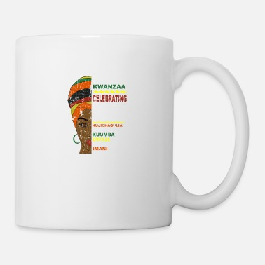 Happy Kwanzaa African Woman - Mug