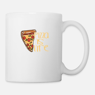 Pizza Pizza food cheese - Coffee/Tea Mug