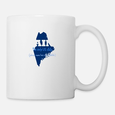 State Motto The Only State - Mug