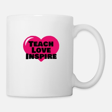 Africa Teach love inspire with love - Coffee/Tea Mug