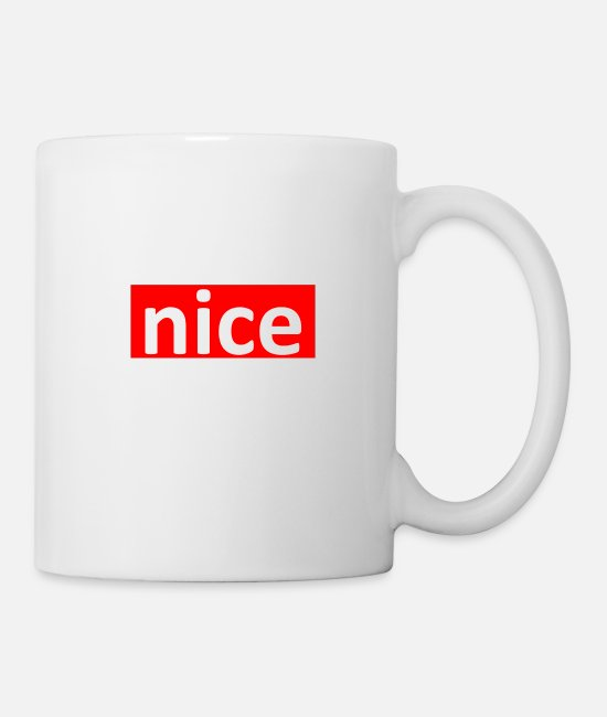 Proud Mugs & Cups - Nice - Mug white
