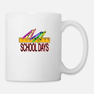 Kindergarten School Days - Mug
