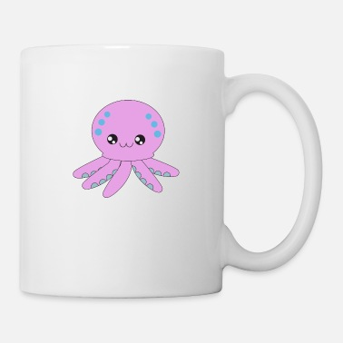 Ocean Creatures octopus, cute animals, ocean creatures - Mug