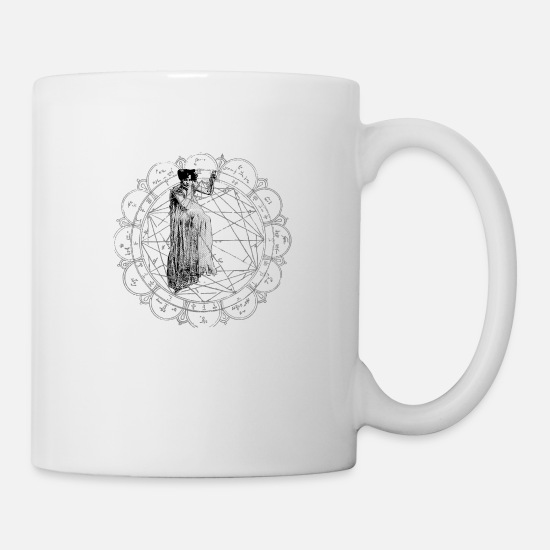Occult Mugs & Drinkware - The Bane of the Spider Queen Occult - Mug white