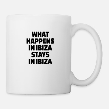 Neon What happens in ibiza stays 01 - Mug