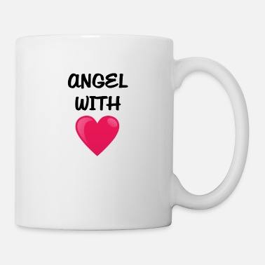 Heart With Wings Angel with heart - Mug