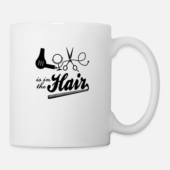 Hairdresser Mugs & Drinkware - Hair Stylist - Mug white