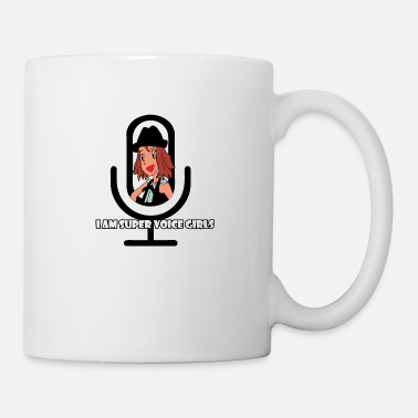 i am super voice girls - Mug