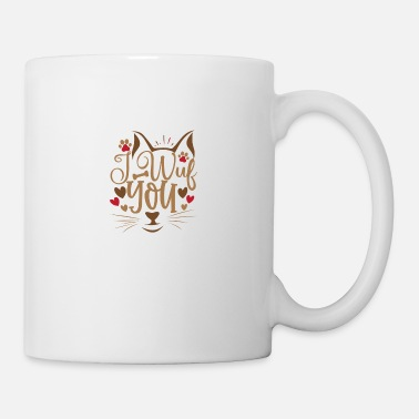 Money I Wuf You - Mug