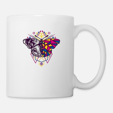 Graffiti Geometric Butterfly - Mug