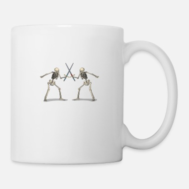 Sword Fight Sword fighting skeletons - Mug