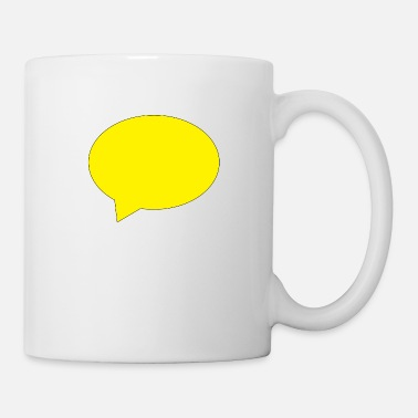 Speech Balloon balloon speech bubble speech balloon - Mug