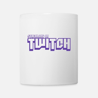 Twitch Streamer Streaming on Twitch - Mug