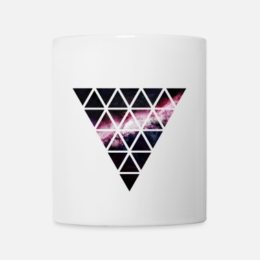 Triangle triangle of triangles galaxy - Mug