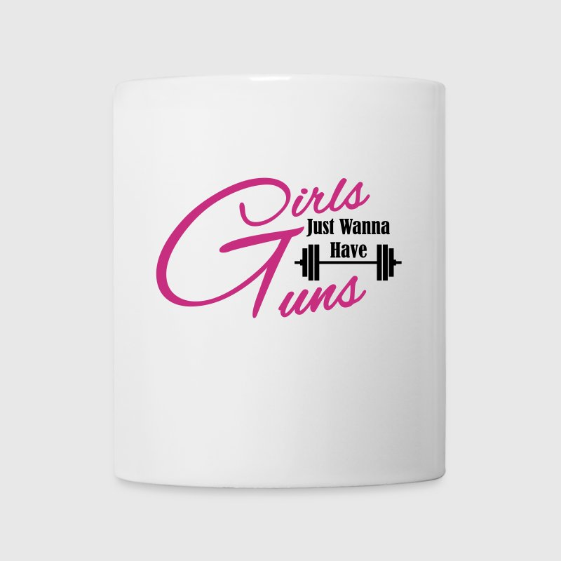 girls just wanna have guns fitness - Coffee/Tea Mug