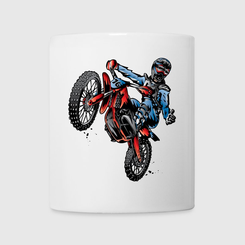 Motocross Dirt Bike Stunt Rider - Coffee/Tea Mug